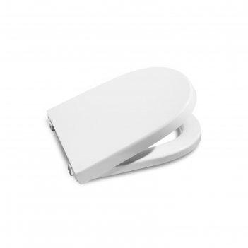 Крышка-сиденье roca meridian softclose, цвет белый