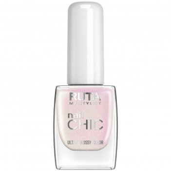 Лак для ногтей ruta nail chic, тон 51, перламутр