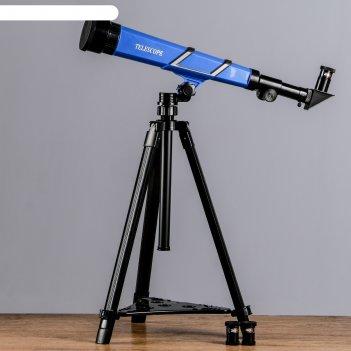 Телескоп настольный х20х30х40 синий 55*33*65 см.