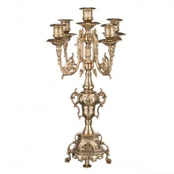 Канделябр барокко на 5 свечей