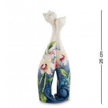 Jp-96/15 ваза парочка кошек (pavone)