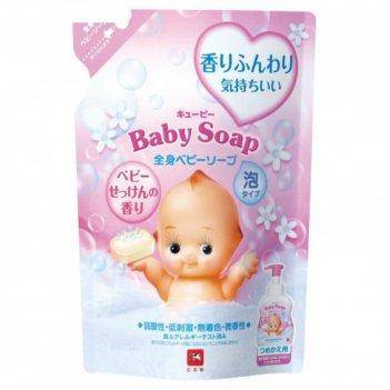 Детская пенка 2 в 1 для мытья волос и тела без слёз с первых дней жизни с