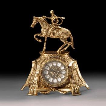 Часы настольные всадник
