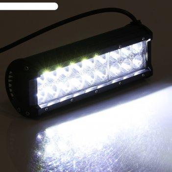 Противотуманная фара torso, 18 led, ip67, 54 вт, 6000 к, направленный свет