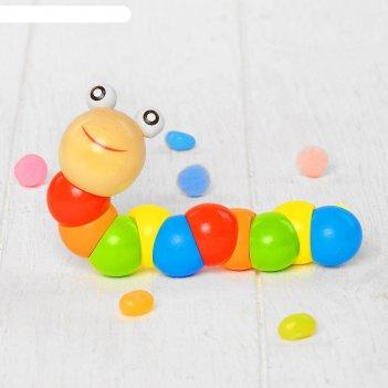 Головоломка-змейка гусеничка
