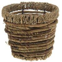 Кашпо плетеное конус 16*16*12 см