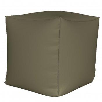 Пуфик куб мини, ткань нейлон, цвет серый