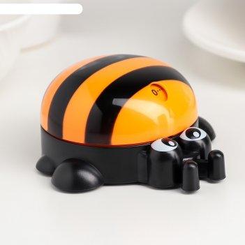 Кухонный таймер (мех) «пчёлка», 9x8,5x4 см, цвет микс