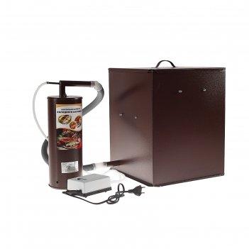 Коптильня холодного копчения дым дымыч 01м,, дымогенератор, коричневая