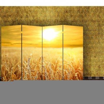 Ширма пшеничное поле, 200 x 160 см