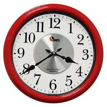 Влагостойкие часы sinix 4065b красные