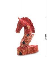 10-014-02 фигурка лошадь (батик, о.ява) сред 20см