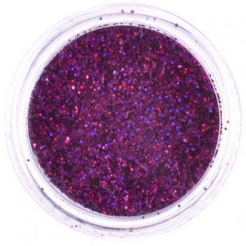 Пыль-дизайн y 8254-1/64   светло-фиолет.  (3 гр.)