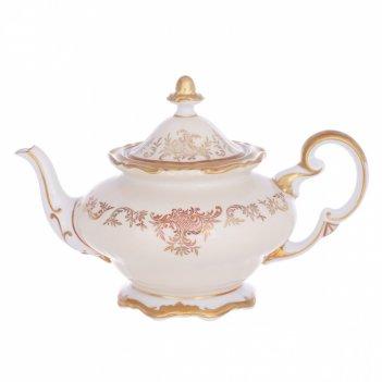 Чайник 1,2л.ювел кремовый