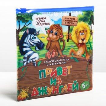 Магнитная игра джунгли зовут, 17 х 17 см
