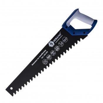 Ножовка по пенобетону кобальт 246-098, 12 tpi, тефлоновое покрытие