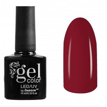 Гель-лак для ногтей трёхфазный led/uv, 10мл, цвет в2-005 красный