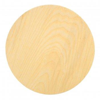 Планшет круглый деревянный фанера 2 см d-25 см calligrata