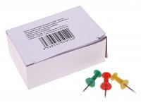 Кнопки силовые цветные, в упаковке 50 шт