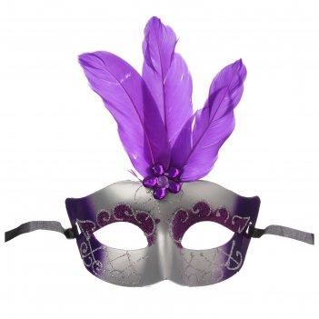 Карнавальная маска богиня, цвета микс
