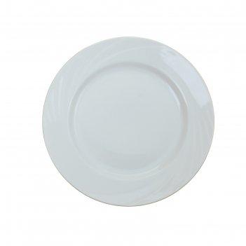 Тарелка обеденная 240 мм золотая канва