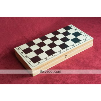 Шахматы гроссмейстерские фигуры бук, доска мдф, 42х42см
