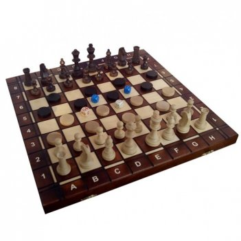 Шахматы+шашки+нарды торнамент 4, wegiel