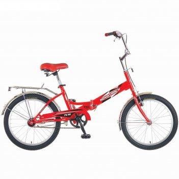 Велосипед 20 novatrack fs30, цвет: красный, х52028-к