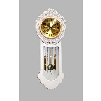 Настенные часы с маятником sinix 07w