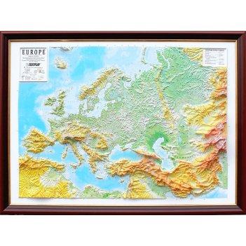 3d карта европа