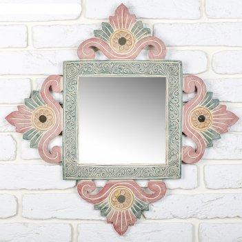 Панно зеркальное дорогой подарок 40х1х40 см