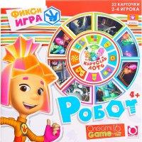 Настольная игра: карусель-лото робот