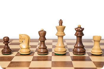 Шахматные фигуры российская классика индия король 8,3см