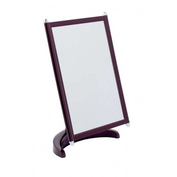 Зеркало psm 002 plum/c наст. квадр.17х22 см (3/12)