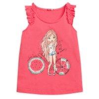 Майка для девочки, рост 104 см, цвет розовый gfv3068