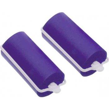 Бигуди резиновые  dewal beauty сиреневые  d 25ммx70мм(10шт/упак)