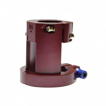 Усиленный хомут для электросамоката xiaomi (антилюфт) краснный