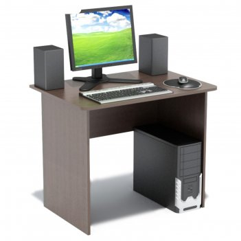 Компьютерный стол, 900 x 600 x 740 мм, цвет венге