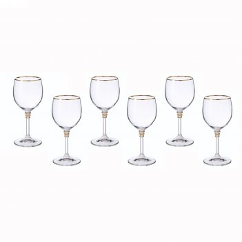 Набор бокалов для вина 240 мл 6 шт оливия