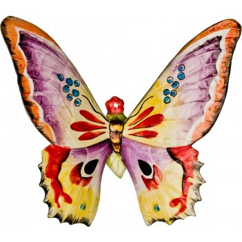 Панно настенное бабочка 26*28 см.