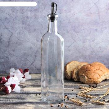 Бутыль для соусов и масла «классик» 500 мл, 6x29 см