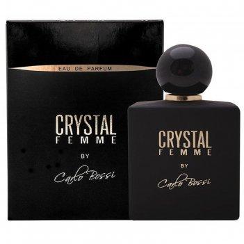 Парфюмированная вода женская carlo bossi crystal femme, 100 мл