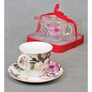 20025 пара чайная уренние розы 250 мл. (36)