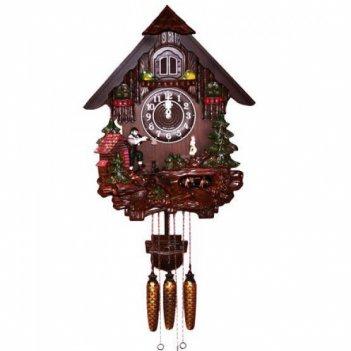 Часы с кукушкой sinix 804