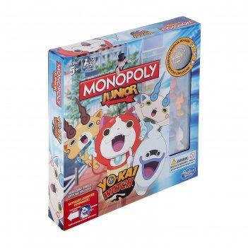 Настольная игра монополия джуниор йо-кай вотч b6494121