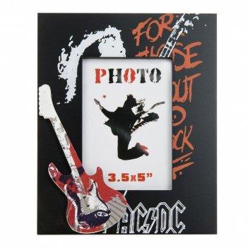 Фоторамка декоративная rock-n-roll (9*12см.) 16*20*1см. (min7)