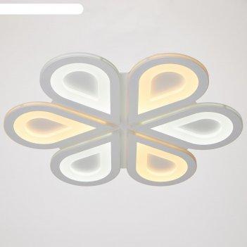Люстра с пду 74106/6 120вт led диммир., 3000-6000к белый d=53см