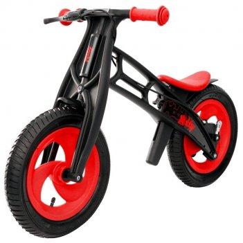 Велобалансир+беговел hobby-bike rt fly а черная оса plastic red/black а-ши