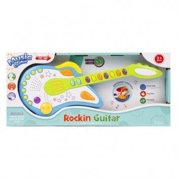 Гитара э/ф свет, звук, регулир.громк., кор.