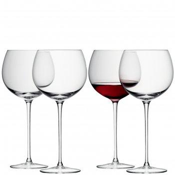 Набор из 4 круглых бокалов для вина wine, 570 мл